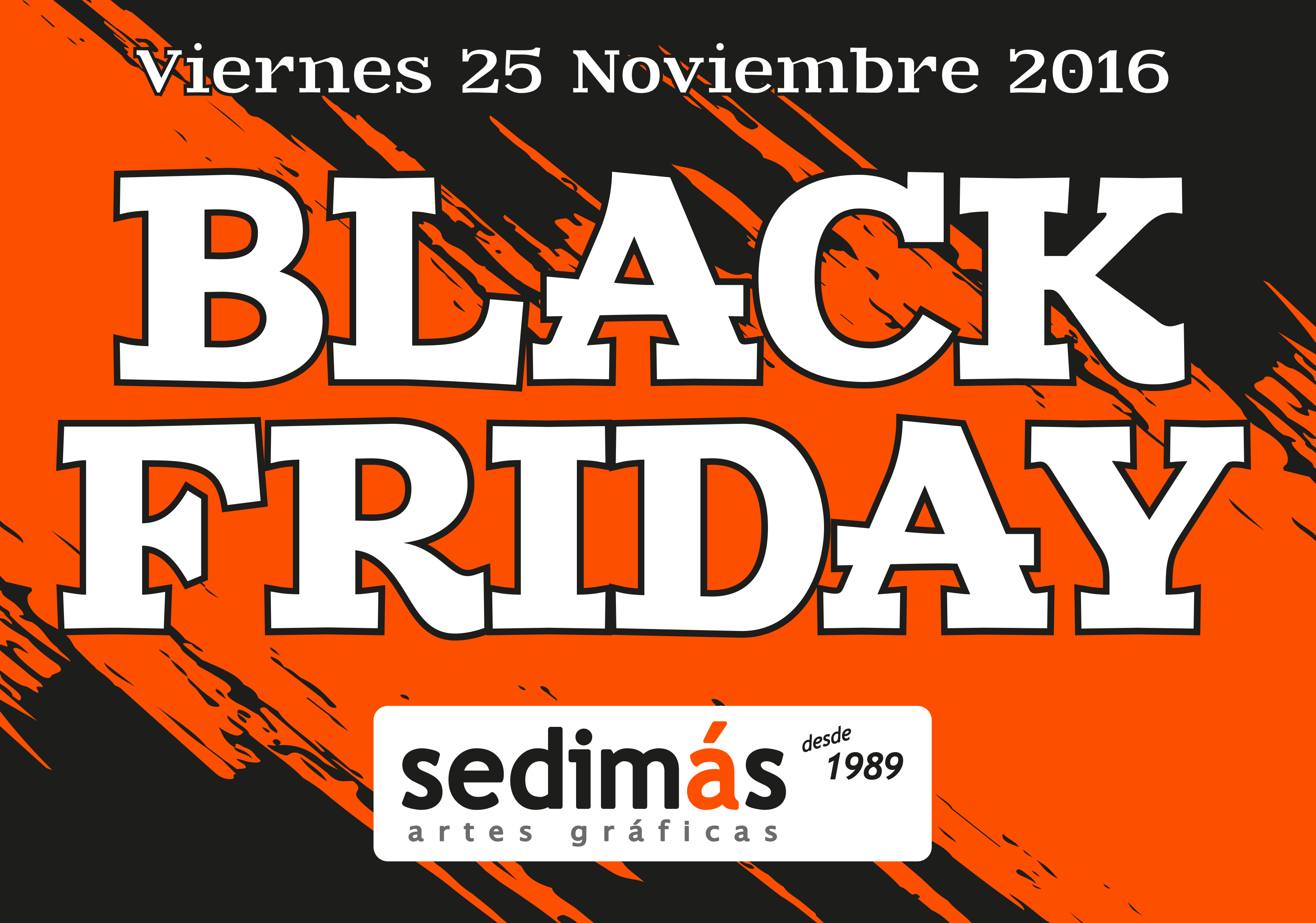 Black Friday en Sedimás