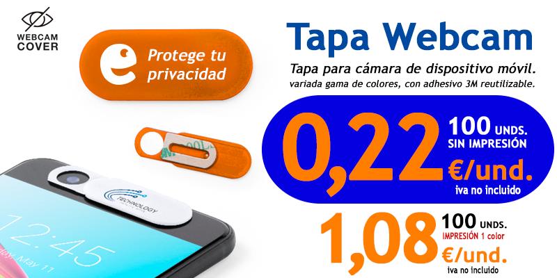 MERCHANDISING TAPA WEBCAN DESDE 0,22€